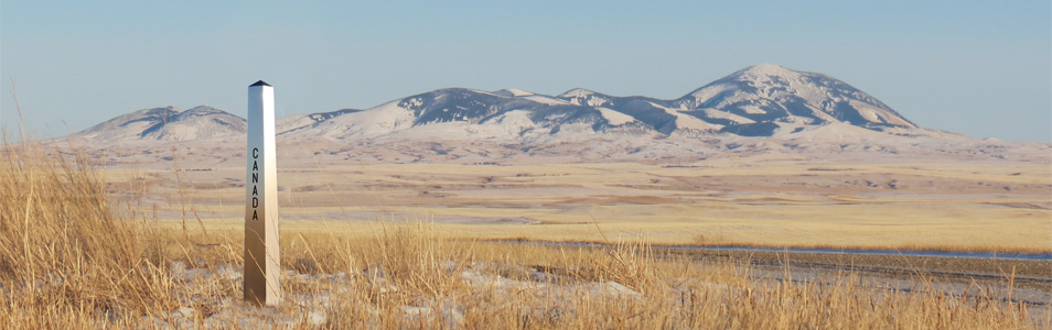 East of Coutts, AB/Sweet Grass, MT